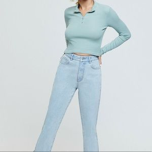 PacSun Mom Jeans Stonewashed